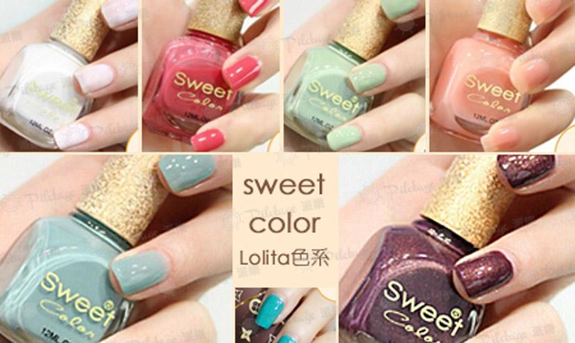 $38購【Sweet Color Lolita色系指甲油】,多樣顏色輕鬆搭配,輕輕一擦,閃耀最迷人的風采! (價值 $68)
